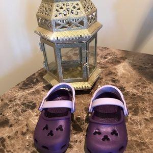 New purple 👶crocs
